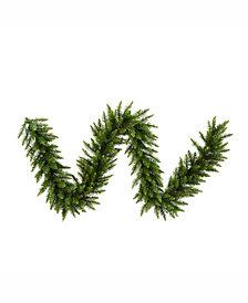 Vickerman 9' Camden Fir Artificial Christmas Garland Unlit