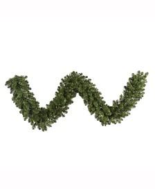 Vickerman 9' Grand Teton Artificial Christmas Garland Unlit