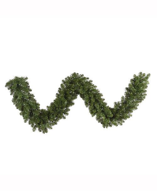 Vickerman 9' Grand Teton Artificial Christmas Garland Unlit