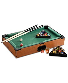 Pool Table Game with Shot Glasses