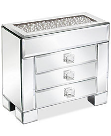 Jay Imports American Atelier' Mirror Box With Pearls