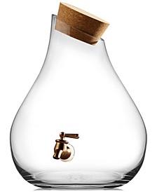 2.5-Gallon Beverage Dispenser with Cork Lid