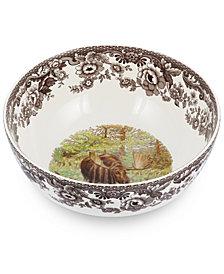 Spode Woodland Moose Round Salad Bowl