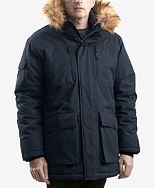 Outfitter Men's Logan Faux-Fur-Trim Parka