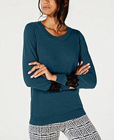 MICHAEL Michael Kors Lace-Inset Sweatshirt