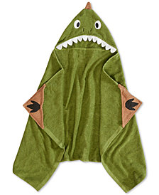 "Urban Dreams Dusty The Dino Hooded 25"" x 50"" Throw, Created for Macy's"