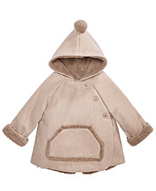 First Impressions Baby Boys & Girls Hooded Kimono Jacket, Created for Macy's