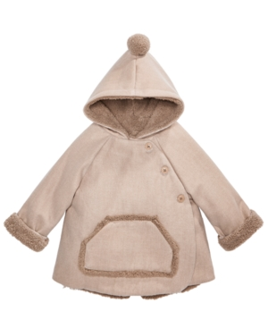 First Impressions Baby Boys  Girls Hooded Kimono Jacket Created for Macys