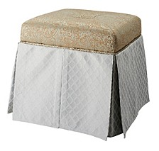 Stacy Storage Vanity Stool