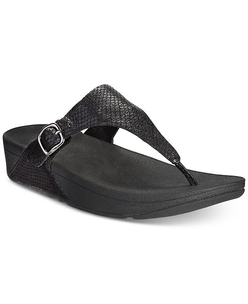 5ed3e9a1125 FitFlop The Skinny Wedge Sandals   Reviews - Sandals   Flip Flops ...