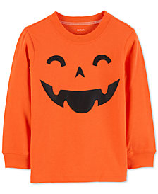 Carter's Little & Big Boys Pumpkin Cotton Shirt