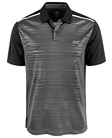 Attack Life by Greg Norman Men's Caven Printed Polo, Created for Macy's