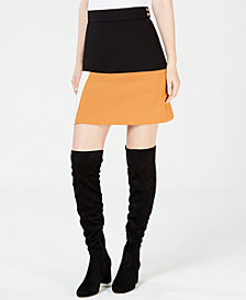 Marella Wally Colorblocked Skirt