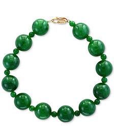 EFFY® Jade (4 & 10mm) Bracelet