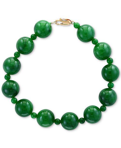 EFFY Collection EFFY® Jade (4 & 10mm) Bracelet