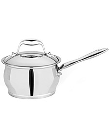 Zeno 2.1-qt Stainless Steel Covered Sauce Pan