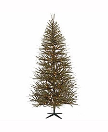 7' Vienna Twig Artificial Christmas Tree with 300 Warm White LED Lights