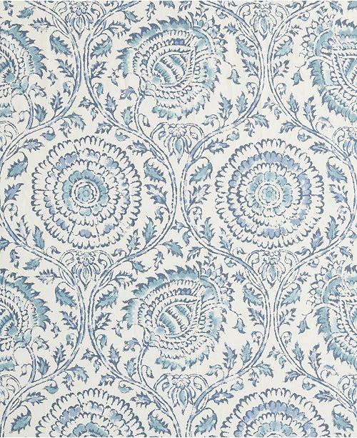 Echo Design Kamala 72 X Cotton Printed Shower Curtain