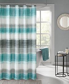 """Madison Park Essentials Saben 72"""" x 72"""" Printed Shower Curtain"""