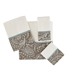 Aubrey 6-Pc Jacquard Towel Set