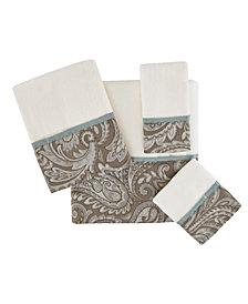 Madison Park Aubrey 6-Pc Jacquard Towel Set