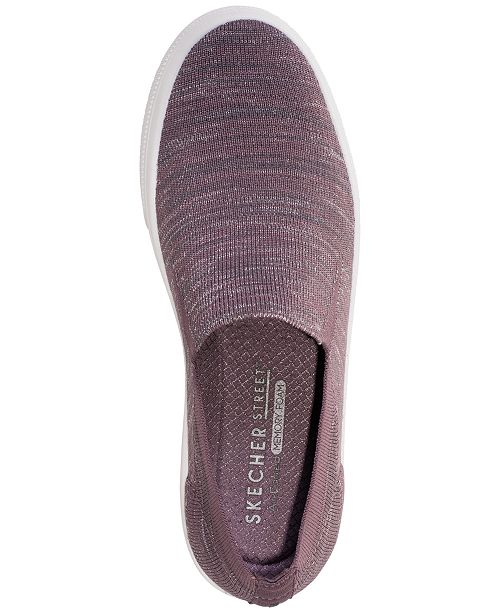 f4398eed5744 ... Skechers Women s Street Poppy Blurred Lines Slip-On Casual Sneakers  from Finish ...