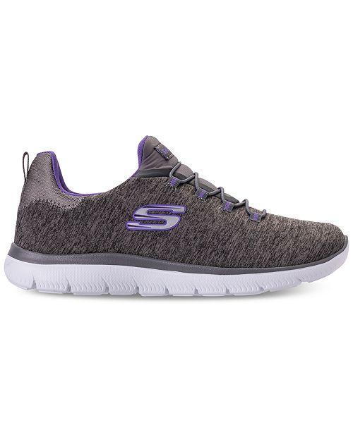 f4f3de265021 ... Skechers Women s Summits - Quick Getaway Wide Width Walking Sneakers  from Finish ...