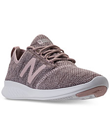 New Balance Women's FuelCore Coast V4 Wide Width Running Sneakers from Finish Line