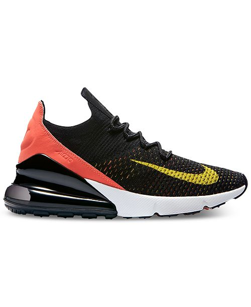 2f75cca9d85d3 Nike Women's Air Max 270 Flyknit Casual Sneakers from Finish Line ...
