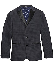 Big Boys Houndstooth Suit Jacket