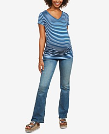 Motherhood Maternity Boot-Cut Jeans