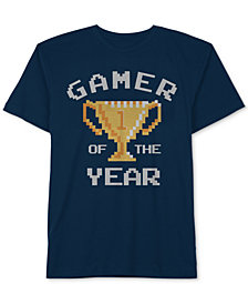 Jem Big Boys Gamer Of The Year Graphic Cotton T-Shirt
