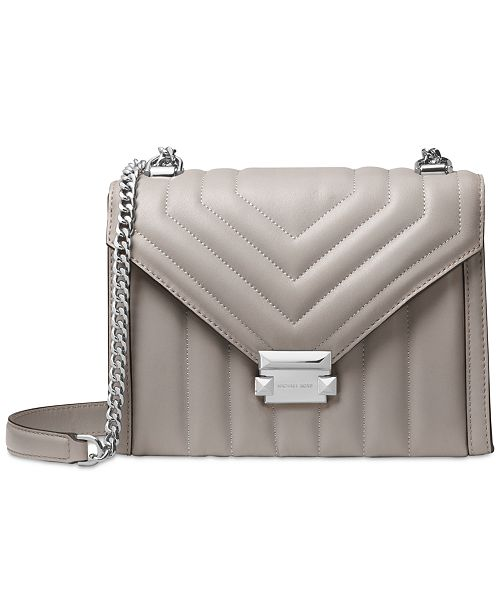 876db2cdffc4 Michael Kors Whitney Quilted Leather Shoulder Bag   Reviews ...