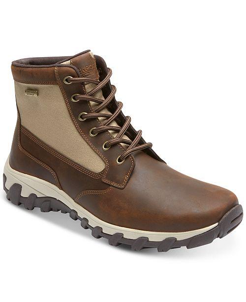 d13d0e1e6bd0 Rockport Men s Cold Springs Plus Mid Waterproof Boots   Reviews ...