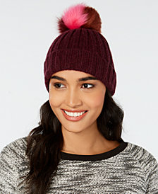 UGG® Multicolored Pom Pom Knit Beanie
