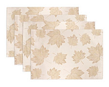CLOSEOUT! Arlee Concord Set of 4 Placemats