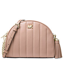 MICHAEL Michael Kors Quilted Half Moon Crossbody