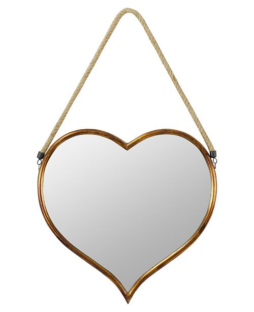 Aspire Home Accents Kiera Heart Wall Mirror Reviews All Mirrors Home Decor Macy S
