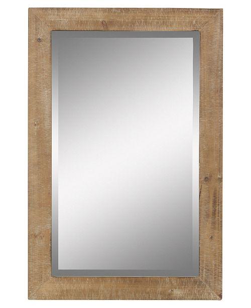 Aspire Home Accents Morris Wall Mirror - Nutmeg 36 x 24