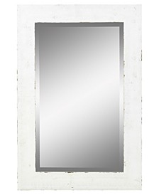 Morris Wall Mirror - White 30 x 20
