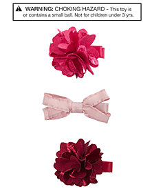 On the Verge Little & Big Girls 3-Pk. Hair Clips