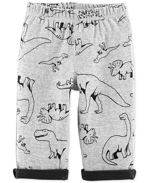 Carter's Baby Boys Dino-Print Pajama Pants