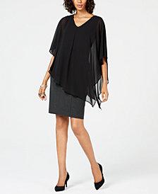 Alfani Asymmetrical Top & Pencil Skirt, Created for Macy's