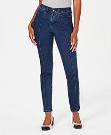 Charter Club Bristol Seamed Skinny Ankle Jeans, Created for Macy's