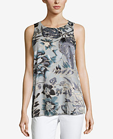 ECI Printed Sleeveless Top