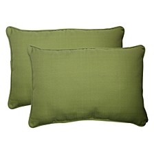 Forsyth Kiwi Over-sized Rectangular Throw Pillow, Set of 2