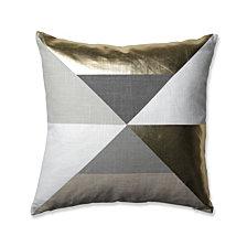 """Avalon Gold 18"""" Throw Pillow"""