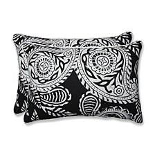 Addie Night Over-sized Rectangular Throw Pillow, Set of 2