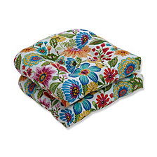 Gregoire Prima Wicker Seat Cushion, Set of 2