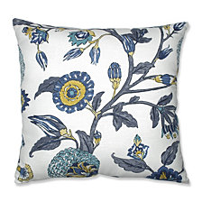 "Auretta Peacock 24.5"" Floor Pillow"